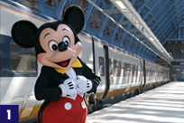 Eurostar Disneyland Resort Station